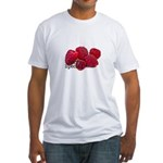 Berry Special Raspberries Fitted T-Shirt