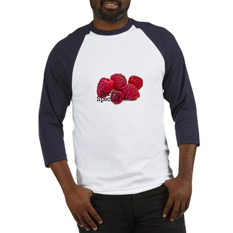 Berry Special Raspberries Baseball Jersey
