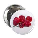 """Berry Special Raspberries 2.25"""" Button"""
