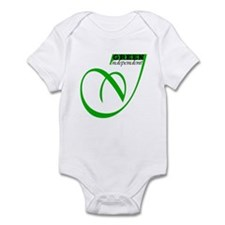 GREEN INDEPENDENT Infant Bodysuit