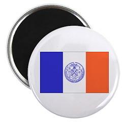 New York City Flag Magnet