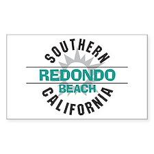 Redondo Beach Rectangle Decal