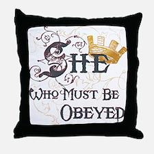 Obeyed Throw Pillow