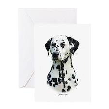Dalmatian 9T004D-367 Greeting Card
