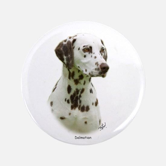 """Dalmatian 9J022D-19 3.5"""" Button"""