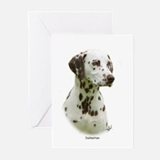 Dalmatian 9J022D-19 Greeting Cards (Pk of 20)