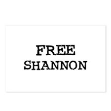 Free Shannon Postcards (Package of 8)