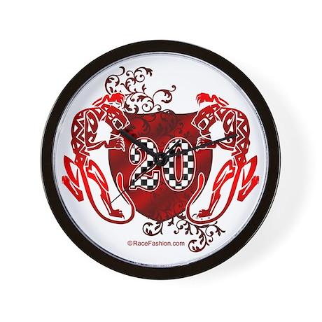 RaceFashion.com Wall Clock