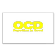 OCD Repetition Is Good Rectangle Decal