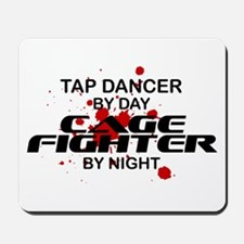 Tap Dancer Cage Fighter by Night Mousepad