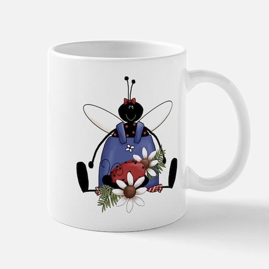 Ladybug Garden Mug