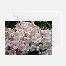 Mountain Laurel Full Bloom Greeting Card
