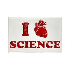 i love science Rectangle Magnet