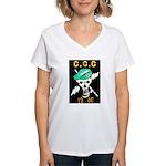 C.C.C. Special Forces Women's V-Neck T-Shirt