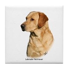 Labrador Retriever 9Y297D-038a Tile Coaster