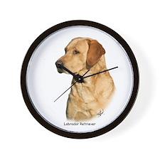 Labrador Retriever 9Y297D-038a Wall Clock