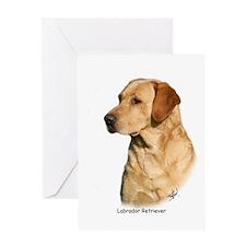 Labrador Retriever 9Y297D-038a Greeting Card