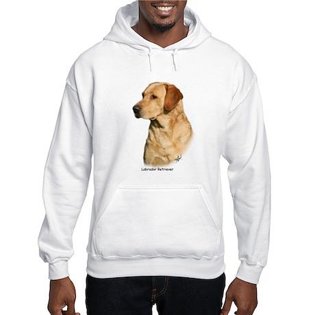 Labrador Retriever 9Y297D-038a Hooded Sweatshirt