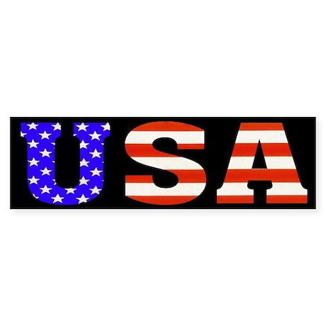 USA Stars n Stripes! Bumper Sticker