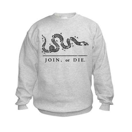 Join or Die Kids Sweatshirt