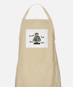 Country Girl Hope TEAL 2 BBQ Apron