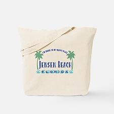 Jensen Beach Happy Place - Tote or Beach Bag