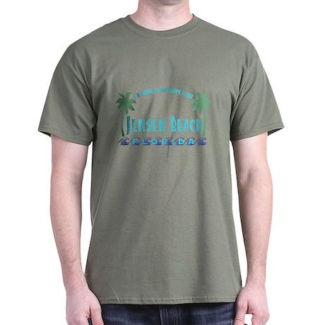 Jensen Beach Happy Place - Dark T-Shirt