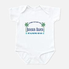 Jensen Beach Happy Place - Infant Bodysuit