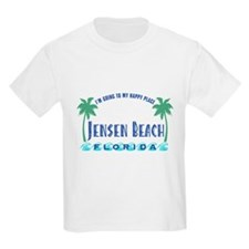 Jensen Beach Happy Place - T-Shirt