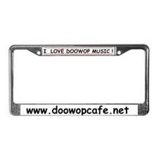 Cute Club License Plate Frame