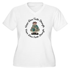 Country Girl Hope TEAL 3 T-Shirt