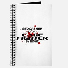 Geocacher Cage Fighter by Night Journal