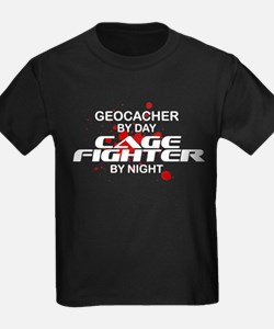 Geocacher Cage Fighter by Night T