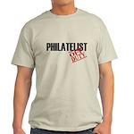 Off Duty Philatelist Light T-Shirt