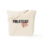 Off Duty Philatelist Tote Bag