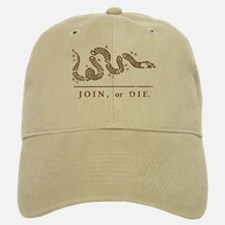 Join or Die Baseball Baseball Cap