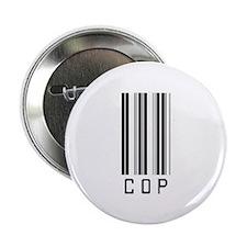 "Cop Barcode 2.25"" Button (100 pack)"