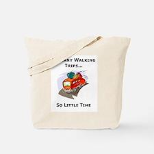 So Many Walking Trips Tote Bag