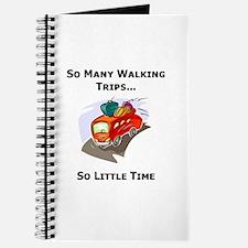 So Many Walking Trips Journal