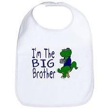 I'm The Big Brother Dinosaur Bib