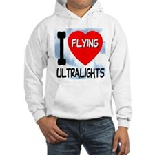 I Love Flying Ultralights Jumper Hoody