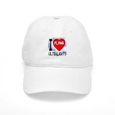 I Love Flying Ultralights Cap