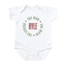 Kyle Man Myth Legend Infant Bodysuit
