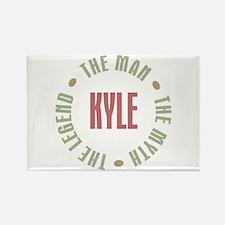 Kyle Man Myth Legend Rectangle Magnet