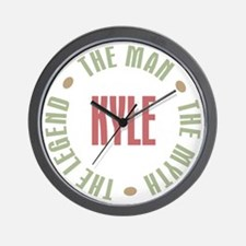Kyle Man Myth Legend Wall Clock