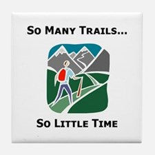 So Many Trails Tile Coaster