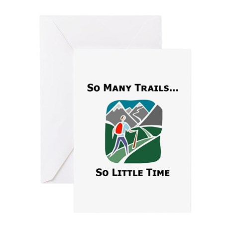 So Many Trails Greeting Cards (Pk of 20)