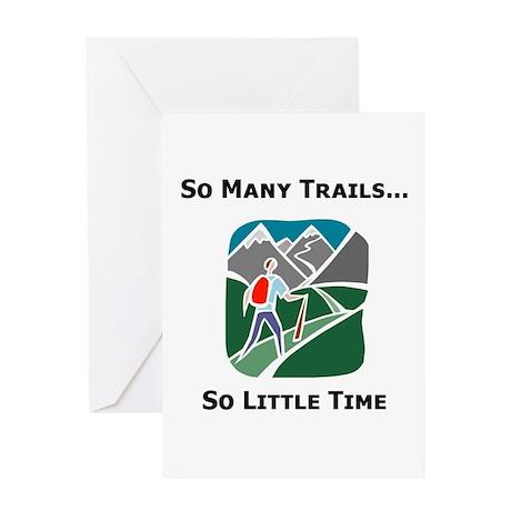 So Many Trails Greeting Card