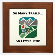 So Many Trails Framed Tile