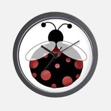 Lucky Bug Wall Clock